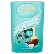 Lindt Lindor Coconut Pralinki z czekolady mlecznej z nadzieniem 200 g