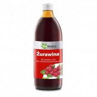 EkoMedica sok żurawinowy 500 ml