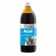 EkaMedica Sok z jagody Acai 100% 500 ml