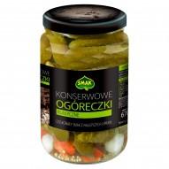 Smak Ogóreczki konserwowe klasyczne 670 g