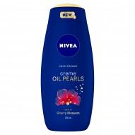 NIVEA Creme Oil Pearls Kwiat wiśni Pielęgnujący żel pod prysznic 500 ml