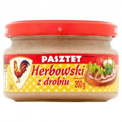 Pasztet Herbowski z drobiu 200 g