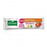 Otmuchów Baton białkowy Freeyu truskawkowy z inulina 40g