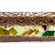 Ciasto Kolorowy Murzynek Kokosek