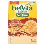 belVita Breakfast Ciastka zbożowe z nadzieniem o smaku czekoladowo-orzechowym 250 g