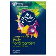 Glade Lively Floral Garden Zapas do elektrycznego odświeżacza powietrza 20 ml