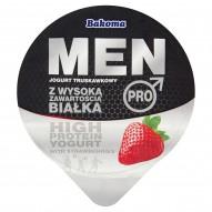 Bakoma Men Pro Jogurt truskawkowy z wysoką zawartością białka 200 g
