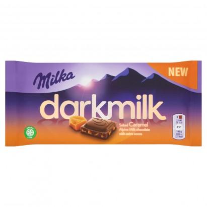 Milka Darkmilk Czekolada mleczna Salted Caramel 85 g