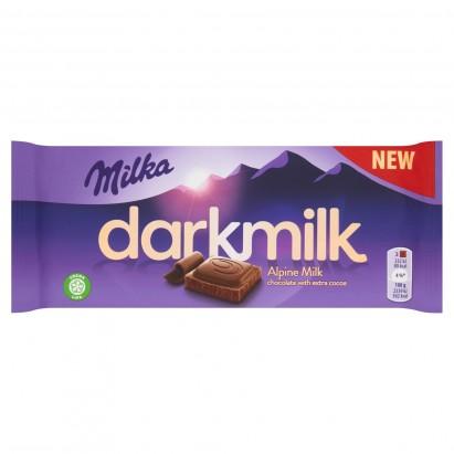 Milka Darkmilk Czekolada mleczna 85 g