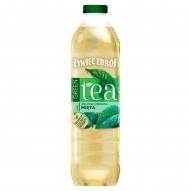 Żywiec Zdrój Green Tea Napój niegazowany zielona herbata mięta 1,5 l