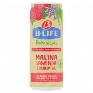 B-Life Botanicals Napój bezalkoholowy malina lawenda eukaliptus 330 ml