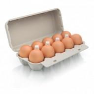 """Bulowice Jajka 10 szt. """"L"""" z chowu ściółkowego"""