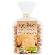 Symbio Ciastka owsiane orzechowe 190 g