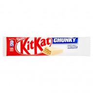 KitKat Chunky White Paluszek waflowy w białej czekoladzie 40 g
