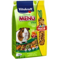 Karma pełnoporcjowa menu vital dla świnki morskiej 1kg Vitakraft
