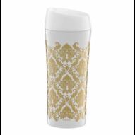 Ambition Glamour Kubek termiczny tapeta złota 400ml
