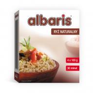 ALBARIS Ryż naturalny 4x100g.
