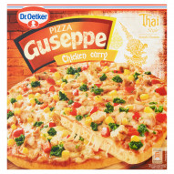 Dr. Oetker Guseppe Smaki Świata Pizza Chicken curry 375 g