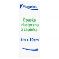 Viscoplast Opaska elastyczna z zapinką 5 m x 10 cm