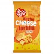 Poco Loco Chipsy kukurydziane o smaku sera 200 g