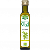 Look Food olej konopny bio 250ml