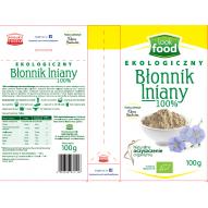 Look Food błonnik lniany bio 100g