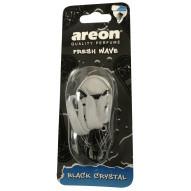 Samochodowy odświeżacz powietrza Areon Fresh Wave Black Crystal