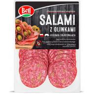 Bell Salami z oliwkami 80g