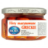 Mors Filety marynowane greckie 200 g