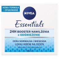 NIVEA Essentials Lekki krem na dzień cera normalna i mieszana 50 ml