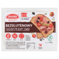 Incola Chleb rustykalny ciemny bezglutenowy 235 g