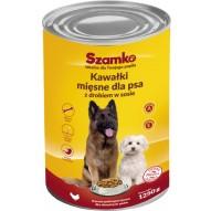 Szamko Karma dla psa z drobiem 1250g