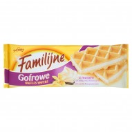 Familijne Gofrowe wafle z musem o smaku waniliowym 150 g
