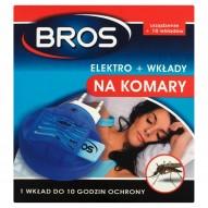 Bros Elektro + wkłady na komary 10 sztuk