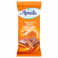 Alpinella Czekolada nadziewana toffi 100 g