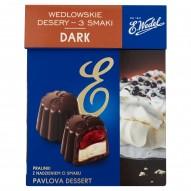 E. Wedel Wedlowskie desery 3 smaki Dark Pralinki z nadzieniem 192 g