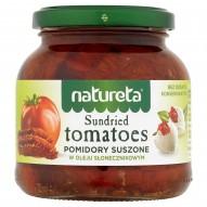 Natureta Pomidory suszone w oleju słonecznikowym 270 g