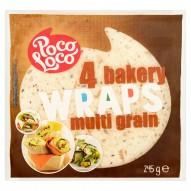 Poco Loco Placki wielozbożowe 245 g (4 sztuki)
