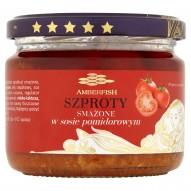 Amberfish Szproty smażone w sosie pomidorowym 280 g