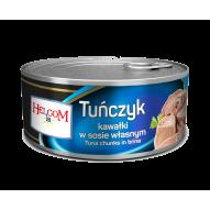 Tuńczyk kawałki w sosie170g Helcom