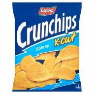 Crunchips X-Cut Solony Chipsy ziemniaczane 150 g