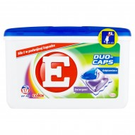 E Duo-Caps Color Kapsułki do prania 374 g (17 sztuk)