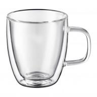 Zestaw 2 szklanek termicznych z uchwytem 350 ml MIA