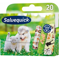 SALVEQUICK plastry dla dzieci Animal planet 20 szt.