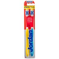 JORDAN szczoteczka do zębów Total Clean medium 2-pack