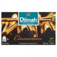 Dilmah Cejlońska czarna herbata z aromatem cynamonu 30 g (20 torebek)