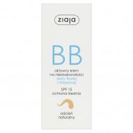 Ziaja BB Aktywny krem na niedoskonałości skóry tłustej i mieszanej SPF 15 50 ml