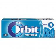 Orbit Peppermint Guma do żucia bez cukru 14 g (10 drażetek)