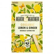 Heath & Heather Napar ekologiczny imbir i cytryna 30 g (20 saszetek)