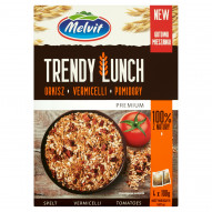Melvit Premium Trendy Lunch orkisz vermicelli pomidory 400 g (4 saszetki)